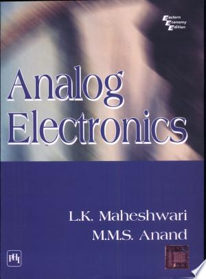 ANALOG ELECTRONICS - ISBN:9788120327221