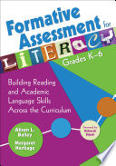 Formative Assessment for Literacy  Grades K 6