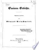 Ossian s Gedichte