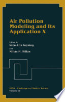 Air Pollution Modeling And Its Application X book