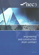 Nec3 Engineering and Construction Short Contract  Ecsc