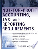 Not for Profit Accounting  Tax  and Reporting Requirements