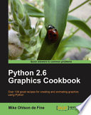 Python 2 6 Graphics Cookbook