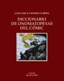 Diccionario de onomatopeyas del cómic