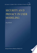 Security and Privacy in User Modeling
