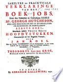 Sakelyke En Prackticale Verklaringe Van Het Boek Jobs