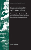 Bounded Rationality In Decision Making