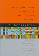 Contemporary social and political theory