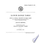 12-inch Range Table