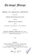 The Gospel Message Sermons
