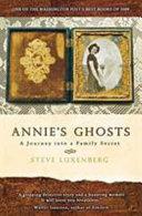 Annie's Ghosts Pdf/ePub eBook