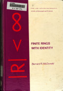 Finite Rings With Identity book