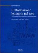 L informazione letteraria nel web