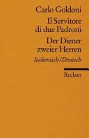 Der Diener Zweier Herren Il Servitore Di Due Padroni