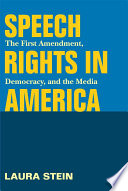 Ebook Speech Rights in America Epub Laura Stein Apps Read Mobile