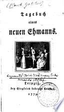 Tagebuch eines neuen Ehmanns