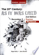 20th Century  as it was Lived S3 Wb S e