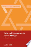 Exile and Restoration in Jewish Thought