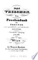 Das Veilchen. Ein Taschenbuch guten Menschen geweiht von Joh. Carl Unger