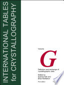 International Tables for Crystallography, Definition and Exchange of Crystallographic Data