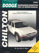 Dodge Durango Dakota Repair Manual