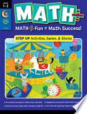 MATH PLUS  Step Up  Grade 1   2  eBook