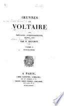 Oeuvres de Voltaire  Biographie