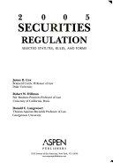 Securities Regulation  2005
