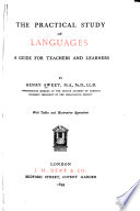 The Practical Study of Languages