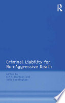 Criminal Liability for Non Aggressive Death