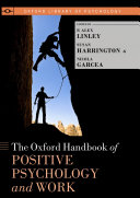 download ebook oxford handbook of positive psychology and work pdf epub