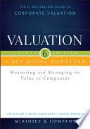Valuation   DCF Model Download