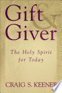 Gift and Giver Restore A Biblical Emphasis On