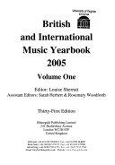 British   International Music Yearbook