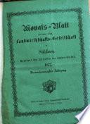 Monatsblatt der kaiserl. königl. Landwirthschafts-Gesellschaft in Salzburg