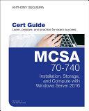MCSA 70 740 Cert Guide
