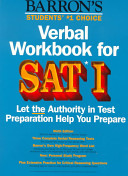 Verbal Workbook for SAT I