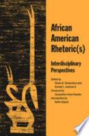 African American Rhetoric s