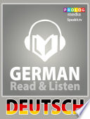German phrase book | Read & Listen | Fully audio narrated (51002)