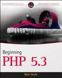 download ebook beginning php 5.3 pdf epub