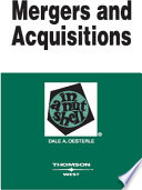 Mergers and Acquisitions in a Nutshell  2d