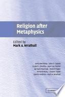 Religion After Metaphysics