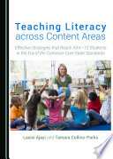 Teaching Literacy across Content Areas