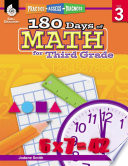 180 Days of Math for Third Grade  Practice  Assess  Diagnose