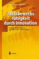 Wettbewerbsfähigkeit durch Innovation