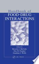 Handbook Of Food Drug Interactions