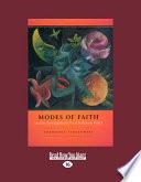 Modes of Faith