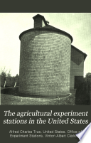 The agricultural experiment stations in the United States