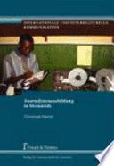 Journalistenausbildung in Mosambik