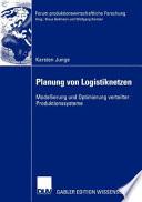 Planung von Logistiknetzen